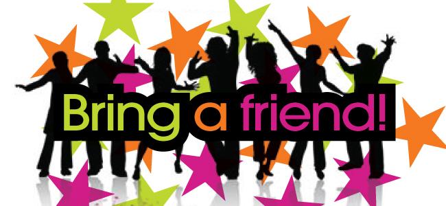 Bring a Friend Week 9/18-9/21